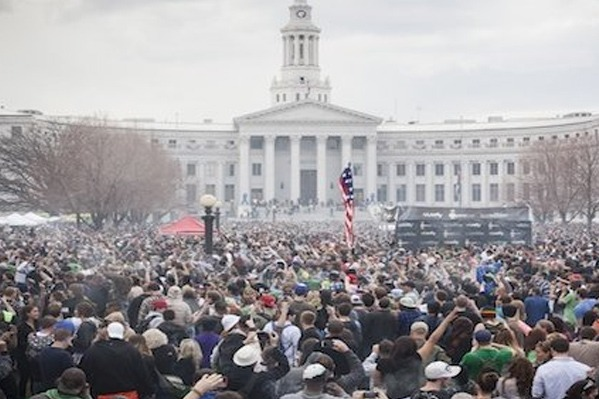 Thrillest.com covers the 420 Rally in Denver