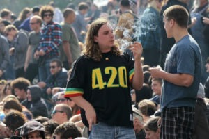 420 friendly means marijuana consumption is permitted and encourages