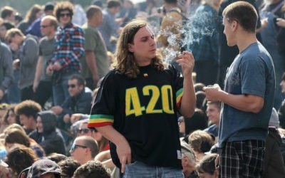 Bustle.com covers the 420 Rally