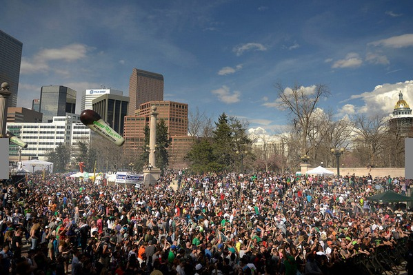The Denver Post covers 420 Rally