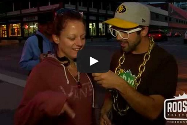 Rooster TV Asks People – What would you do for a bag of weed?