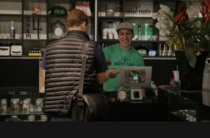 people shopping at dispensary denver