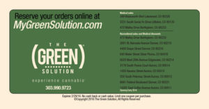 The Green Solution coupon