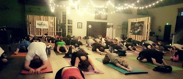 things to do in Denver - stoner yoga