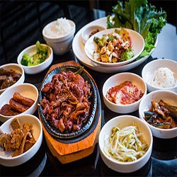 420 friendly activities for father's day, eat Korean BBQ
