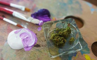 Introducing Kush and Canvases: A Cannabis-Lit Painting Class