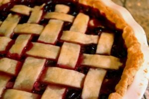 Cooking with marijuana for pie day