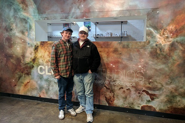 Just Off the Bus: A Father-Son Cannabis Experience