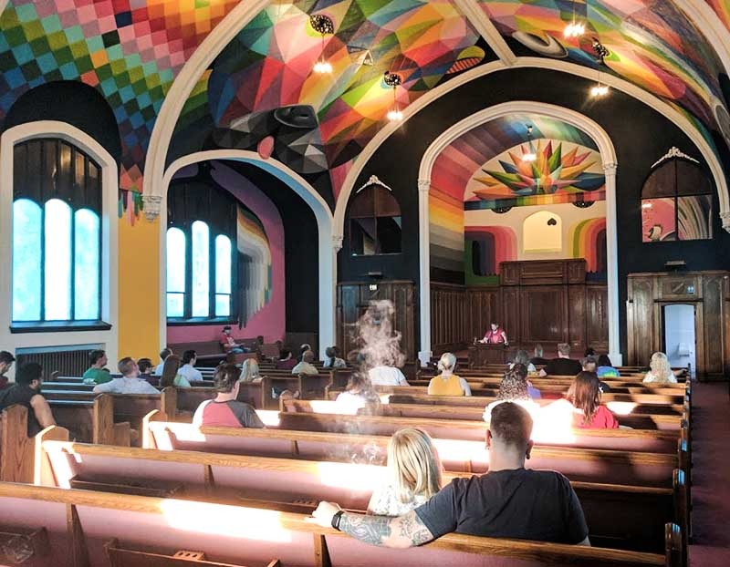 Church of Cannabis goers