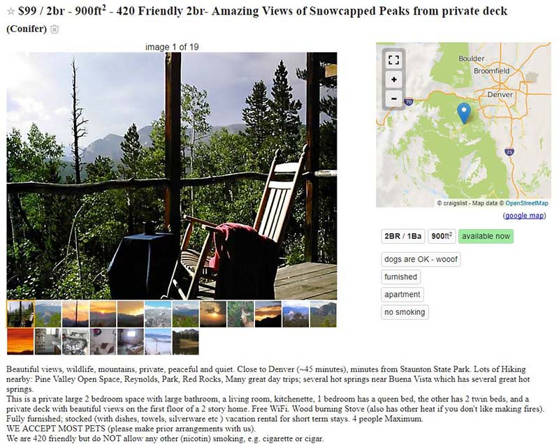 What does 420 mean on craigslist