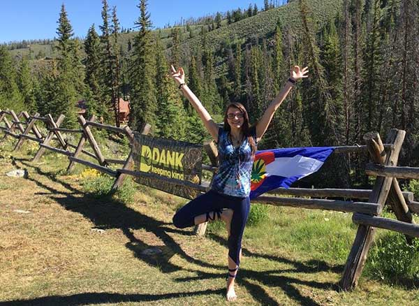 weed and exercise yoga retreat