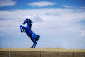Blucifer DIA Denver