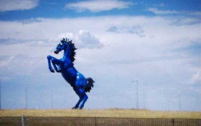 Blucifer: Denver Airport's Haunting Blue Horse of Doom