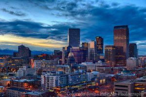 Denver vacation skyline
