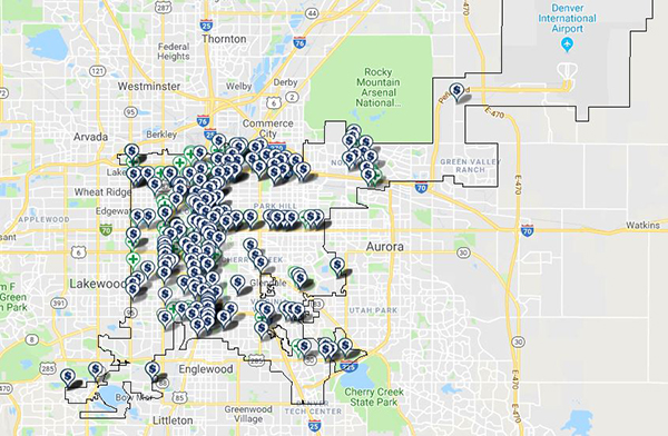how many dispensaries in Denver 1