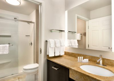 Residence Inn Denver City Center - Guest Bathroom - Shower - 1270815 (1)