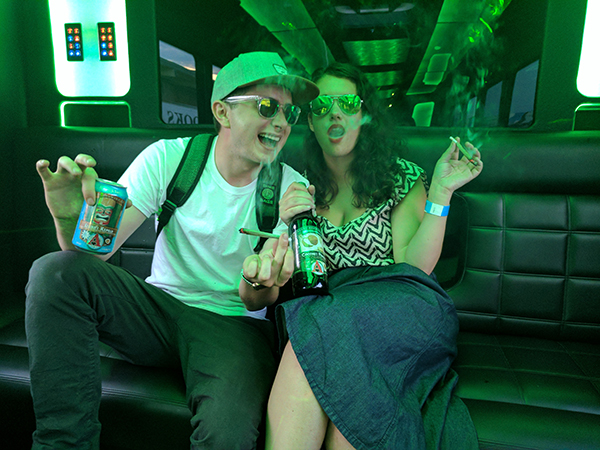 420 friendly party bus
