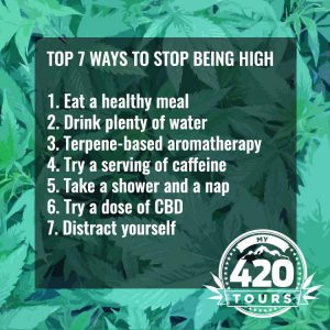 how to stop being high summary