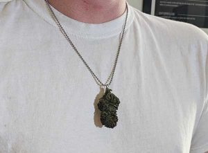 weed gift guide - high life nug necklace