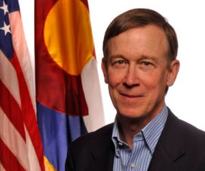 Hickenlooper Colorado Flag